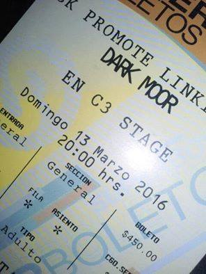Boleto Dark Moor