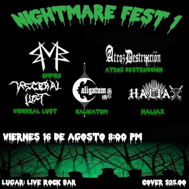Nightmare Fest I