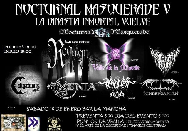 Nocturnal Masquerade Fest V
