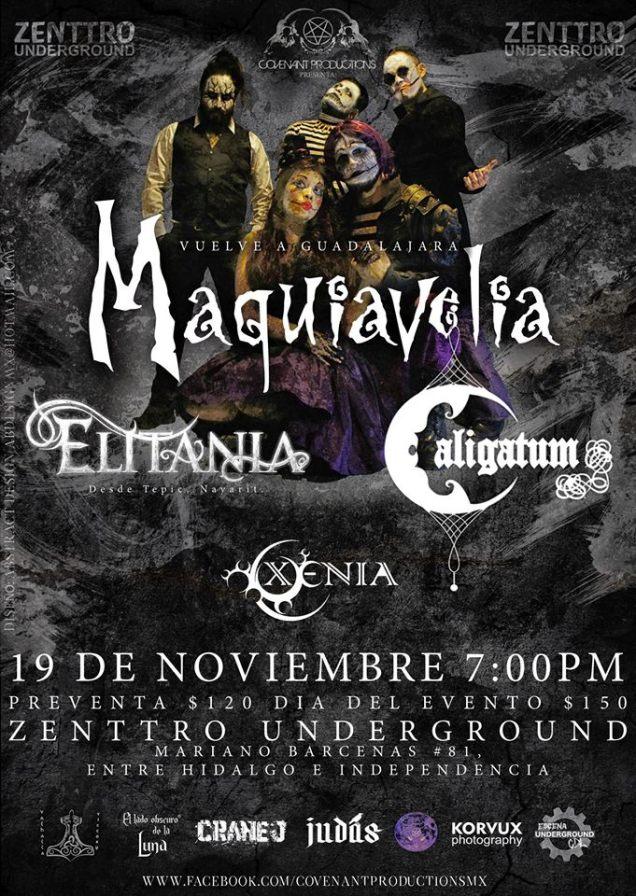 Maquiavelia y Elitania en Guadalajara